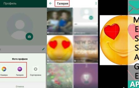 Как установить фото на аватарку в Whatsapp