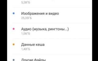 Невозможно загрузить WhatsApp, так как внутренняя память недоступна