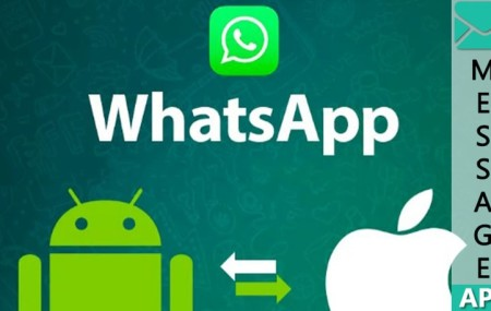 Как перенести переписку Whatsapp с iPhone на Android