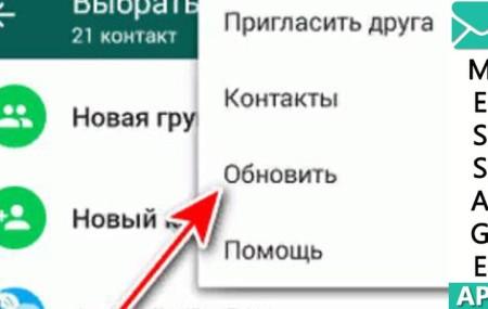 Исчезло отображение имен контактов в Whatsapp