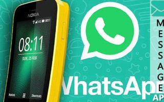 Кнопочные телефоны с Ватсапом – поддерживаемые в 2020-2021 году