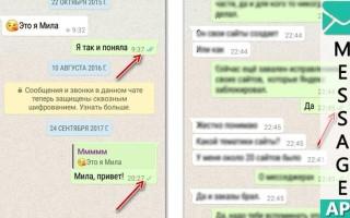 Как узнать прочитано ли сообщение в WhatsApp