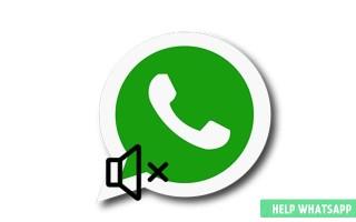 Как отключить звук сообщений или уведомлений в Ватсапе