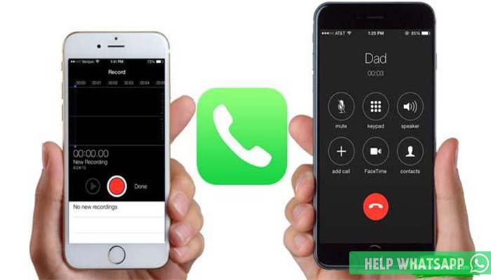 как отправить запись с диктофона в whatsapp