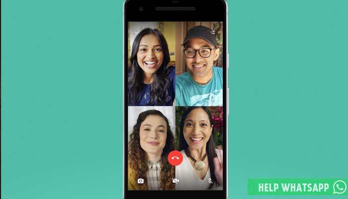 можно ли в whatsapp сделать групповой видеозвонок