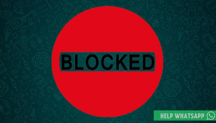как заблокировать в ватсапе контакт