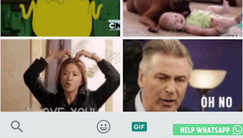 как гифку отправить в whatsapp