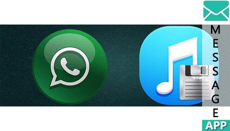 как сохранить аудио из whatsapp