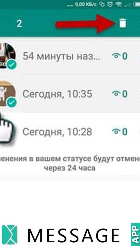 скрытые статусы в whatsapp что это значит