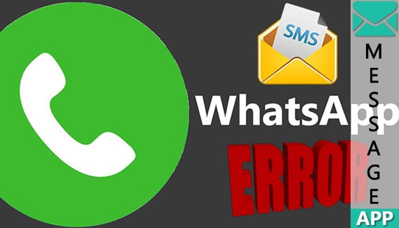 не доходят сообщения в whatsapp